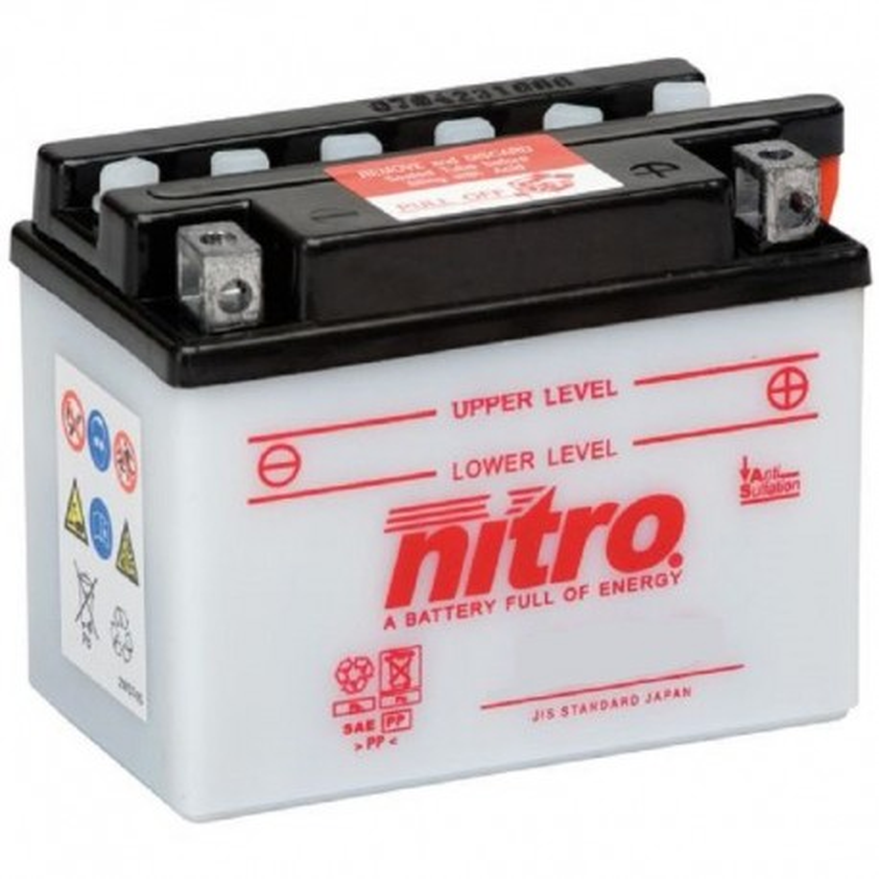 Batterie NITRO pour moto YB12AL-A