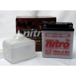 NITRO YB3L-A ouvert avec pack acide